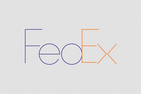 fedex minimalista