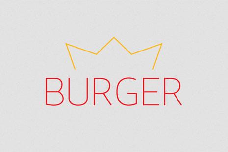 burger king minimalista
