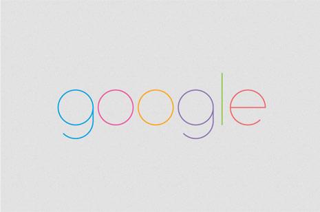 google minimalista
