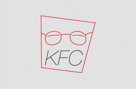 kfc minimalista