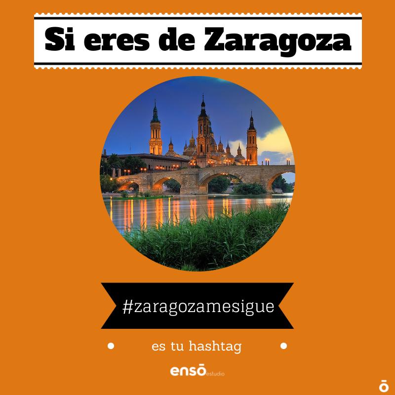 promociones zaragoza: #zaragozamesigue